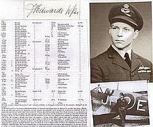 Wing Commander James Francis Edwards DFC* DFM. S