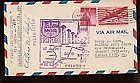 1952 US FFC First Flight Cover Signed by Post Mas