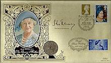 Signed Benham Coin Cover collection. 16 Coin FDCs
