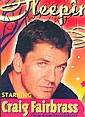 Craig Fairbrass Dan Eastenders signed A4 colour magazine portrait photo