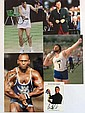 Sport signed collection of 3 12 x 8 photos &