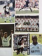 Football signed photos, five 10 x 8 colour photos