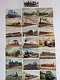 20+ Railway postcards, nice selection on vintage