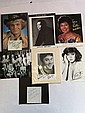 TV/Film signed collection four 10 x 8 photos and