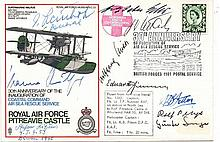 Hanna Reitsch Multisigned RAF Pitreavie Castle FDC