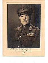 Lord Freyberg VC rare signed photo Great War Victoria Cross winner