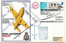 Willy Emil Messerschmitt signed cover designed planes that were to make a major impact in WW2