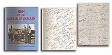 250 Pilots signed Men of the Battle of Britain hard backed book