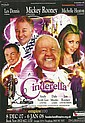 Andy Scott Lee, Les Dennis signed colour promo leaflet for the panto Cinderella mounted to 12 x 8 black card