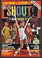 Su Pollard & Claire Sweeney signed colour theatre promo leaflet for the play Shout mounted to 12 x 8 black card