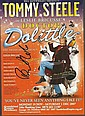 Tommy Steele signed colour promo leaflet for the play Doctor Doolittle mounted to 12 x 8 black card
