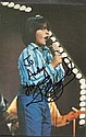Jimmy Osmund signed 8 x 6 colour music magazine photo to Andy mounted to 12 x 8 black card