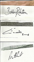 Bobby Robson, Eusebio, Matt Pinsent large