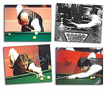 Snooker Stars signed 10 x 8 colour photos, Alan