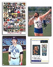 Sport signed collection Linford Christie, Geoff