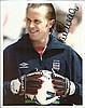 England Football signed collection of three10 x 8
