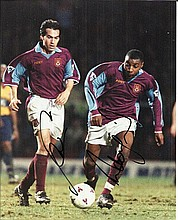 West Ham Football signed photos of three10 x 8