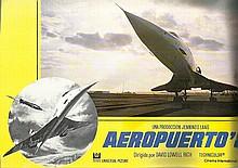 Airport 1980 Lobby Cards four Spanish colour card