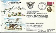 JS/50/40/6c - Battle of Britain Signed by WW2