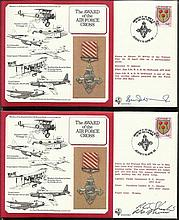 WW2 DM Medal cover collection Tornado in nice