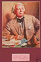 David Lloyd George Matted Photo and Signature