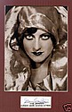Joan Crawford Small Signed Photo. Matted Photo and