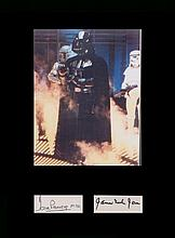 Star Wars. Signatures of James Earl Jones and