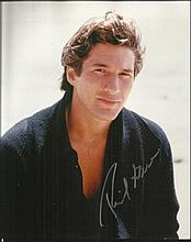 Richard Gere signed 10 x 8 colour 3/4 length