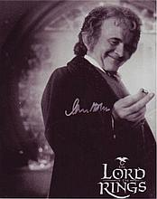 IAN HOLM: 8x10 inch photo from Lord of the Rings,