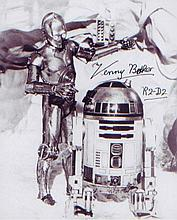 Kenny Baker. As 'R2D2' from the 'Star Wars'