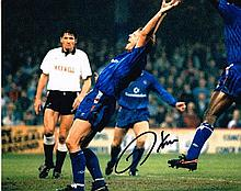 Kerry Dixon Chelsea FC Signed 10 X 8 photo. Good