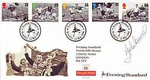 John Charles: 1996 Football Legends FDC Signed By