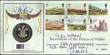 Prince Charles signed 1994 Royal Mint Investiture