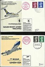 British Aviation cover collection of 60+ covers