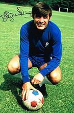 Bobby Tambling Chelsea FC Signed 12 X 8 photo.