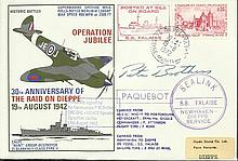 Air commodore P M Brothers DSO, DFC signed 30th