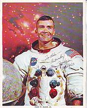 Fred Haise Apollo 13 astronaut autographed