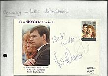 Les Dawson signed 1987 Its a Knockout Royal Cover