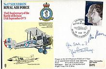 GREAT WAR ACE: 1973 RAF commemorative envelope