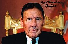 Mad Frankie Fraser Signed 12 X 8 photo. Good