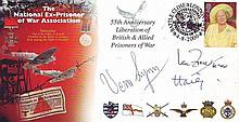 Prisoner of War Association cover signed Vera