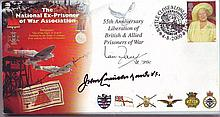 Prisoner of War Association cover signed John
