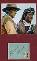 Richard Widmark Vintage Ink Signature and Alamo