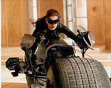 Anne Hathaway 10x8 c photo of Anne from Dark Knight Rises, signed by her at Intersteller  London Pre
