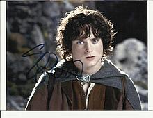 Elijah Wood Lord of the Rings signed colour photo.  Good condition