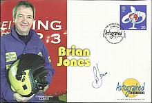 Brian Jones signed Autographed editions FDC. Good condition.