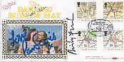 DARLING BUDS OF MAY FDC SIGNED DAVID JASON, PAM FERRIS & PHILIP FRANKS