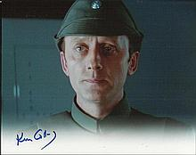 Ken Colley signed 10 x 8 colour photo from Star Wars . Good condition