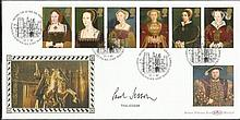 Paul Jesson signed The Great Tudors FDC BLCS124. Paul is an actor of stage and screen. Good conditio