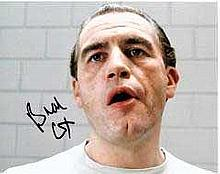 Brian Cox 10x8 c photo of Brian from Manhunter, signed by him in London Good condition